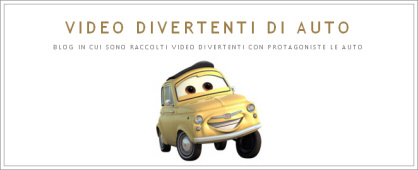 blog video divertenti di auto